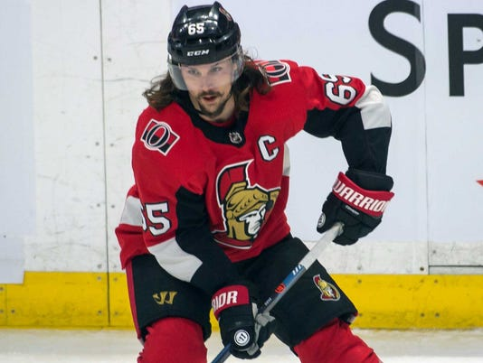 USP NHL: DALLAS STARS AT OTTAWA SENATORS S HKN OTT DAL CAN ON