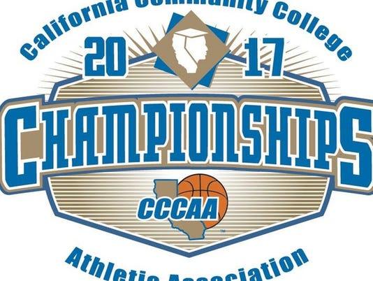 #stockphoto CCCAA basketball championships logo