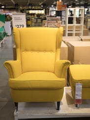 The STRANDMON wing chair ($279) was modeled after the