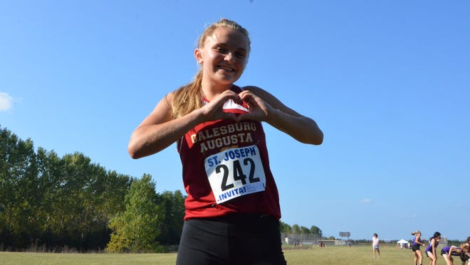 Galesburg-Augusta sophomore Lauryn Coleman is back running for the Rams after being diagnosed last year with Wolff-Parkinson-White syndrome, a rare heart condition.