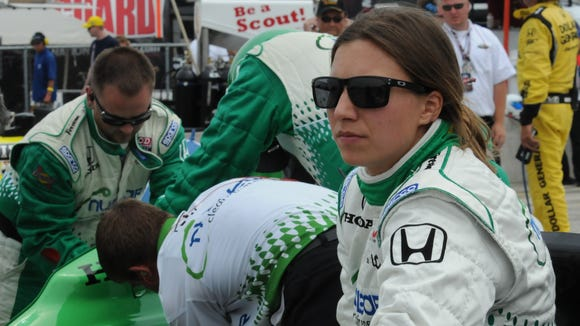 Simona De Silvestro spent four seasons in the IndyCar Series.