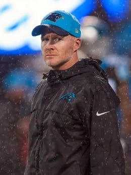 Carolina Panthers defensive coordinator Sean McDermott could be a candidate for the Eagles' head coaching job. McDermott was the Eagles' defensive coordinator in 2009-10.