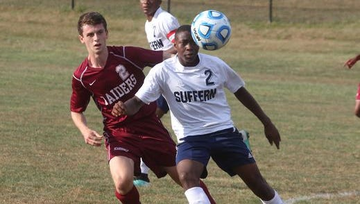 Scarsdale soccer won 1-0 at Suffern Sept. 9, 2015.