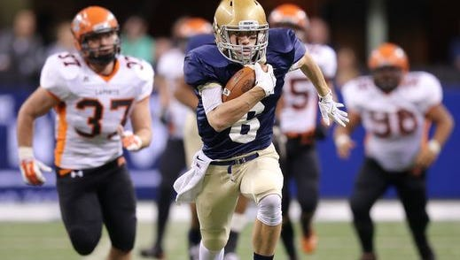 Cathedral defeated LaPorte in the 2014 Class 5A state finals.