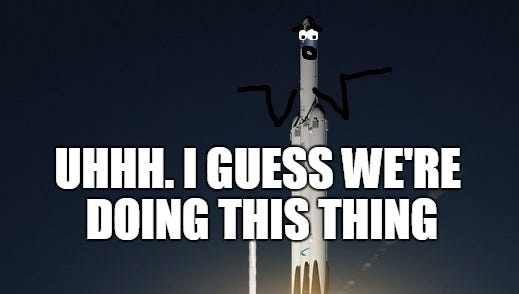 Despite a lack of confidence about its success, the Falcon Heavy will launch in November.