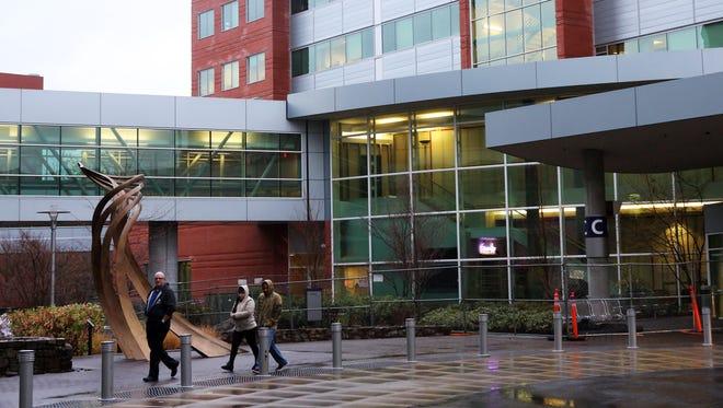 The Salem Hospital Foundation awarded 103 Oregon students scholarships to pursue the study of medicine. Above, Salem Hospital.