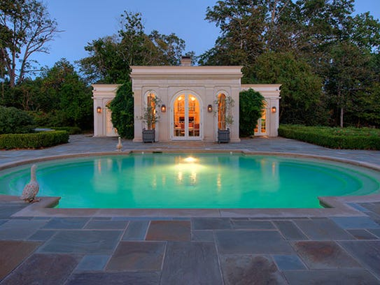 Take a dip in the luxury pool.