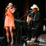 """Country music stars Carrie Underwood and Brad Paisley will host """"The 49th Annual CMA Awards,"""" airing at 8 p.m. Wednesday on ABC."""