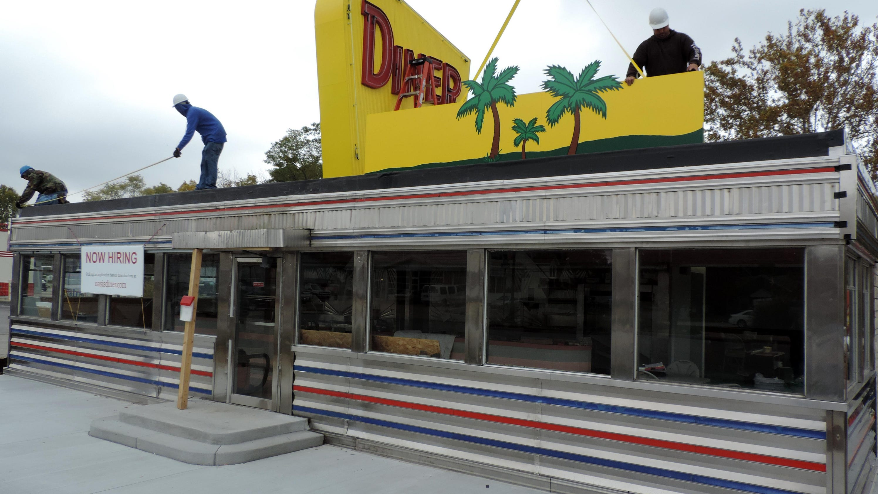 Plainfield diner gets spiffed up for opening