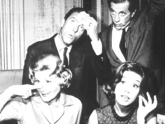 "The cast from ""The Dick Van Dyke Show,"" (1961-1966)"