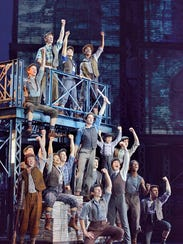 """""""Newsies"""" tells the story of a real-life newspaper"""