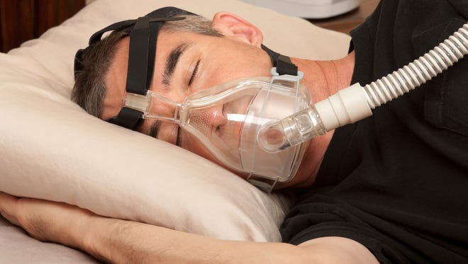 Continuous positive airway pressure (CPAP) is the most common treatment for sleep apnea.