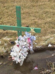 A memorial for Crestline teen Jaycob Pearson was struck