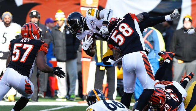 The Bengals head to Cleveland this week after a 42-21 loss to Pittsburgh.