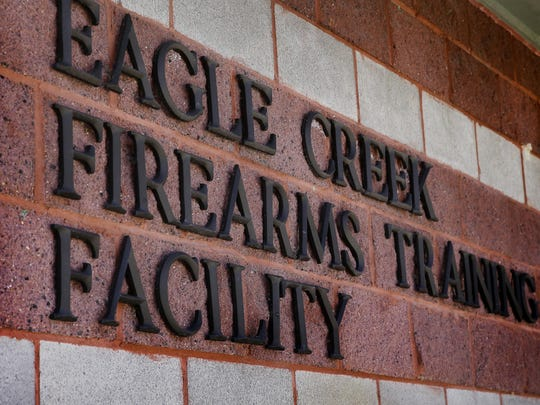 The Eagle Creek Firearms Training Facility on March 16, 2016.