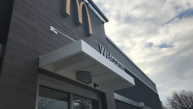The Rochester area's first automated McDonald's restaurant opened on Spencerport Road in Gates