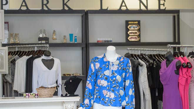 Aileen Dauterive discusses Spring Fashion with The Advertisers Kris Wartelle at Park Lane in River Ranch. Tuesday, March 7, 2017.