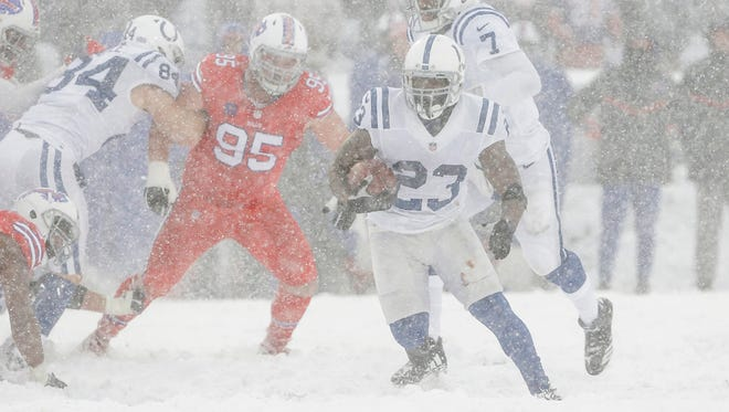 Colts Lose 13 7 In Overtime Snow Game To Bills