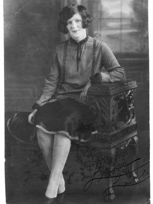 Libby Friedman, age 17, in 1927.