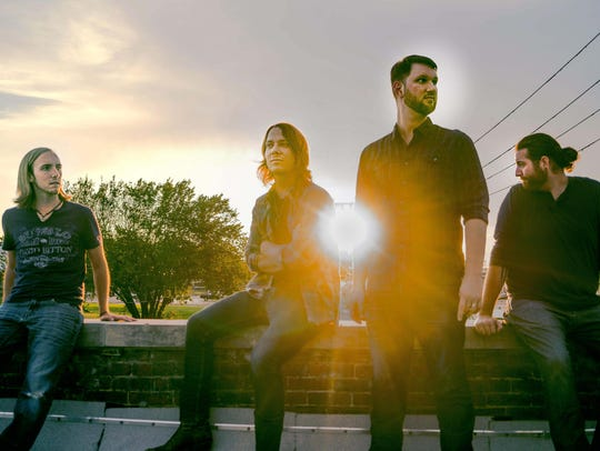 Justice Adams Band (from left): Cameron Stacy, Adam