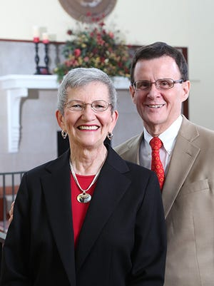 Lora and Russ Talbot.  The Talbot s' have been friends of Iowa State University for many years. In 1998 they established the Russell G. and Lora L. Talbot Scholars in Veterinary Medicine program, an endowed fund that provides a four-year scholarship to seven students each year.