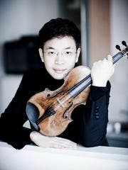 Violinist Paul Huang will perform Beethoven's Violin