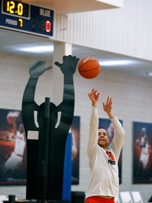 Eric Devendorf, the former Syracuse University basketball star, was hired as an assistant strength and conditioning coach for the Orange last year.
