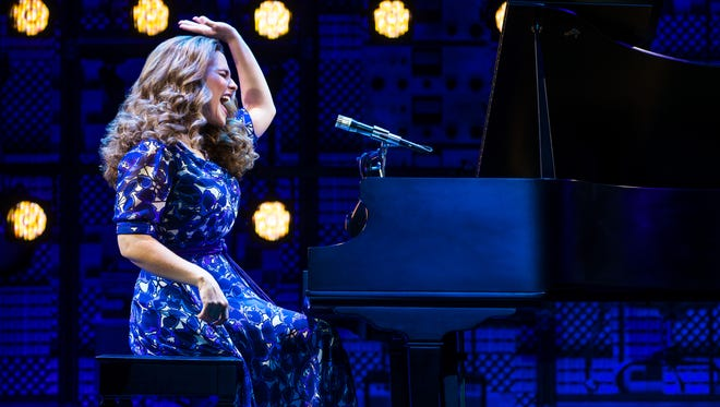 """Sarah Bockel stars as the iconic singer-songwriter Carole King in """"Beautiful: The Carole King Musical."""" The hit Broadway show will be performed at the Plaza Theatre through Sunday."""