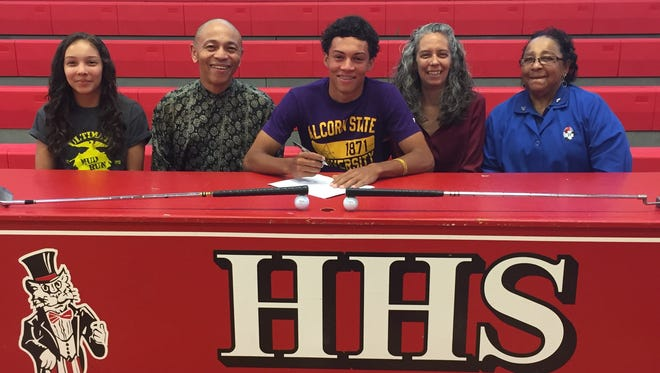 Hendersonville's Kelton Mills has signed to play college golf for Alcorn State.