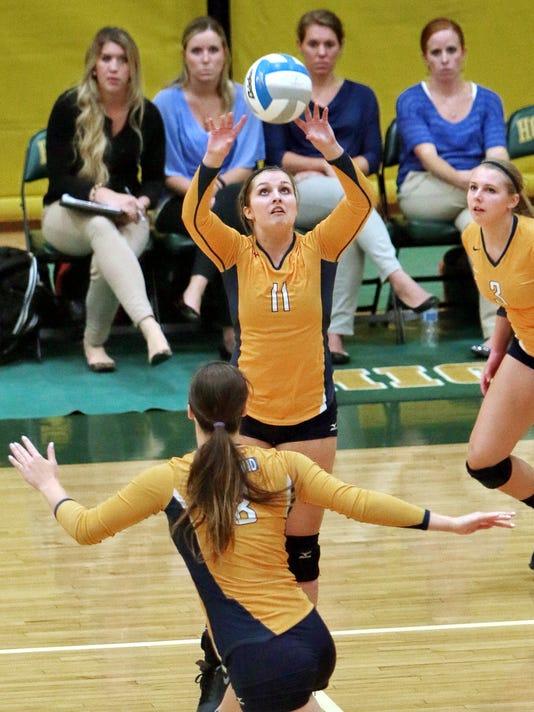 Hartland volleyball