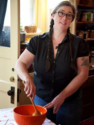 Christina Ward first learned about canning and preserving food from her grandmother on the farm.