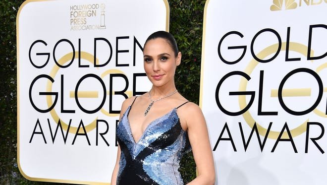 Gal Gadot at the Golden Globes in January.