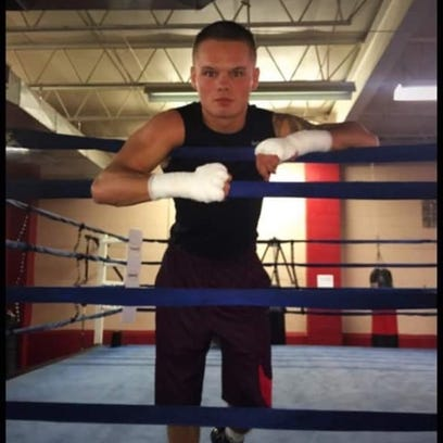 Pro boxer Chaise Nelson, an 18-year-old Ontario High