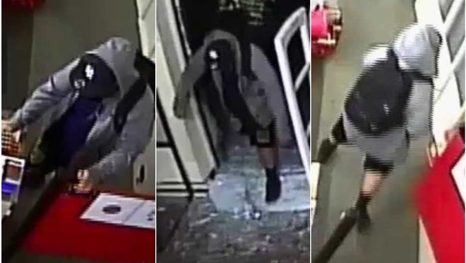 Las Cruces Crime Stoppers is offering a reward of up to $1,000 for information that helps identify the man suspected of breaking into a Family Dollar store on May 18.
