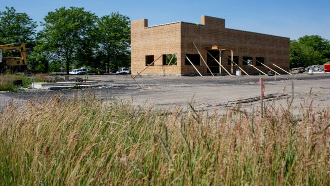 Construction of a Dunkin' Donuts is underway on 24th Avenue in Fort Gratiot.