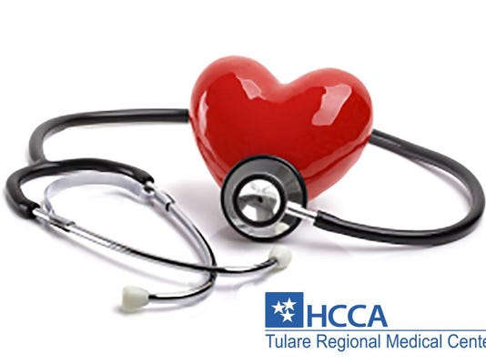 Heart health image with logo