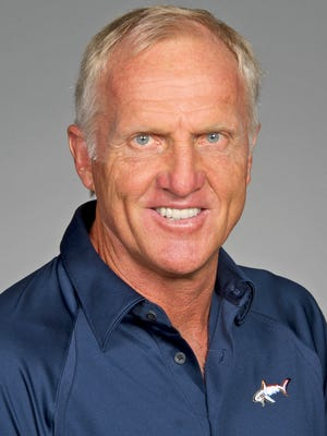 Greg Norman current official Champions Tour headshot (Photo by Chris Condon/PGA TOUR) *** Local Caption *** Greg Norman
