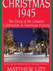 """The cover of """"Christmas 1945,"""" published by Donagh Bracken's History Publishing Company."""