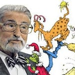 The library celebrates Dr. Seuss' birthday March 1 at the downtown branch and March 5 at the main branch.