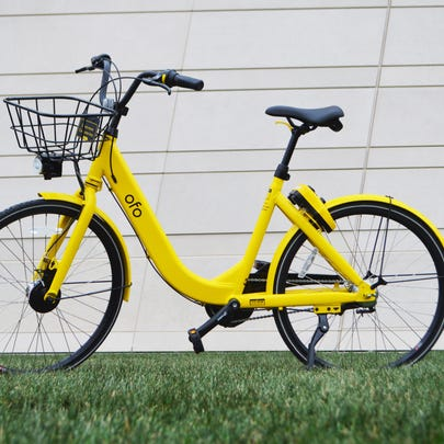 The ofo bike-share service wants to put dozens of its