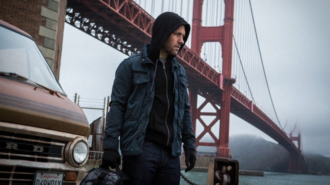 "Paul Rudd as thief-turned-hero Scott Lang in the first image from the Marvel Studios superhero movie ""Ant-Man."""