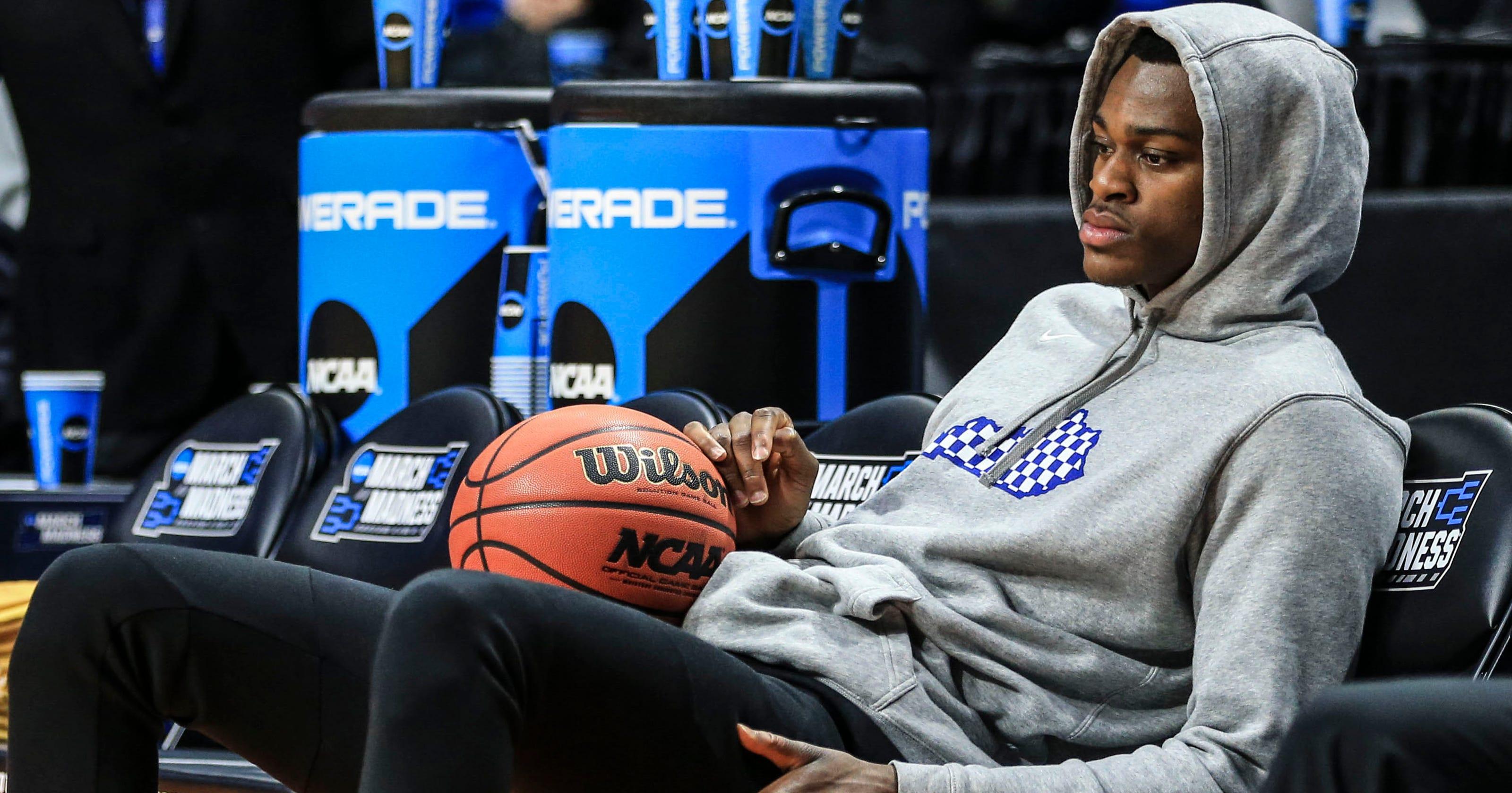60d54d6e4 Kentucky basketball freshman Jarred Vanderbilt to skip NBA draft combine