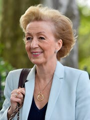 British Energy Minister Andrea Leadsom, one of two