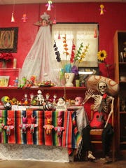 The Red Door Gallery in Tularosa is housing several Dia de los Muertos altars in cooperation with local nonprofit Sophia's Circle. Anyone can visit the gallery Oct. 30 - Nov. 2.