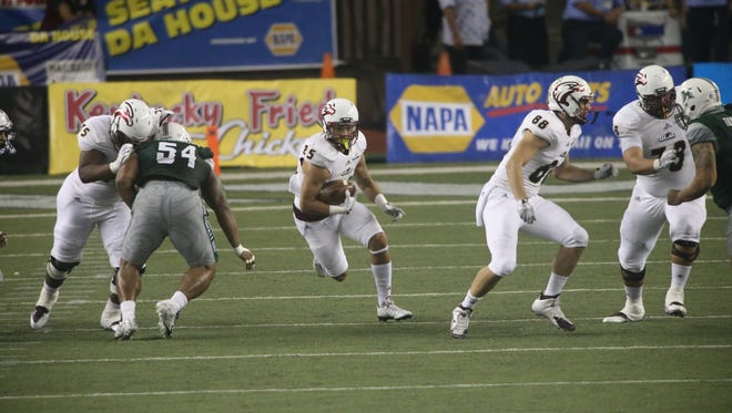 ULM concludes the 2015 season next Saturday against New Mexico State at JPS Field at Malone Stadium.
