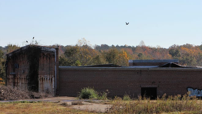 This former mill in Pelzer is slated for development that could bring up to 50 jobs in the next year, according to State Investors project manager Richard Greer.