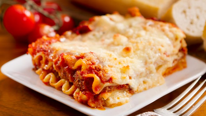 The Bellissimi Gattini fundraiser, hosted by The Cat's Meow, on Saturday celebrates National Lasagna Day.