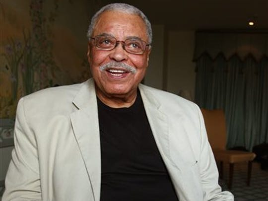 FILE - This Jan. 7, 2013 file photo shows actor James Earl Jones in Sydney, Australia.