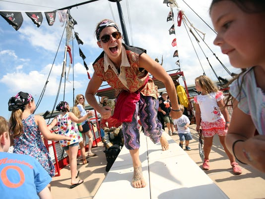 Pirate cruise for kids