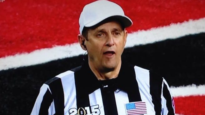 A lot of people were surprised to see a Bob Newhart lookalike at the national championship game Monday.